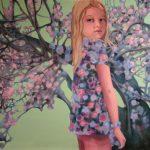 Blossom - olieverf/doek - 105 x 130 cm - privécollectie