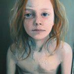 Freckles - olieverf/doek - 150 x 105 cm - privécollectie