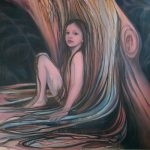 Tree - olieverf/doek - 150 x 170 cm